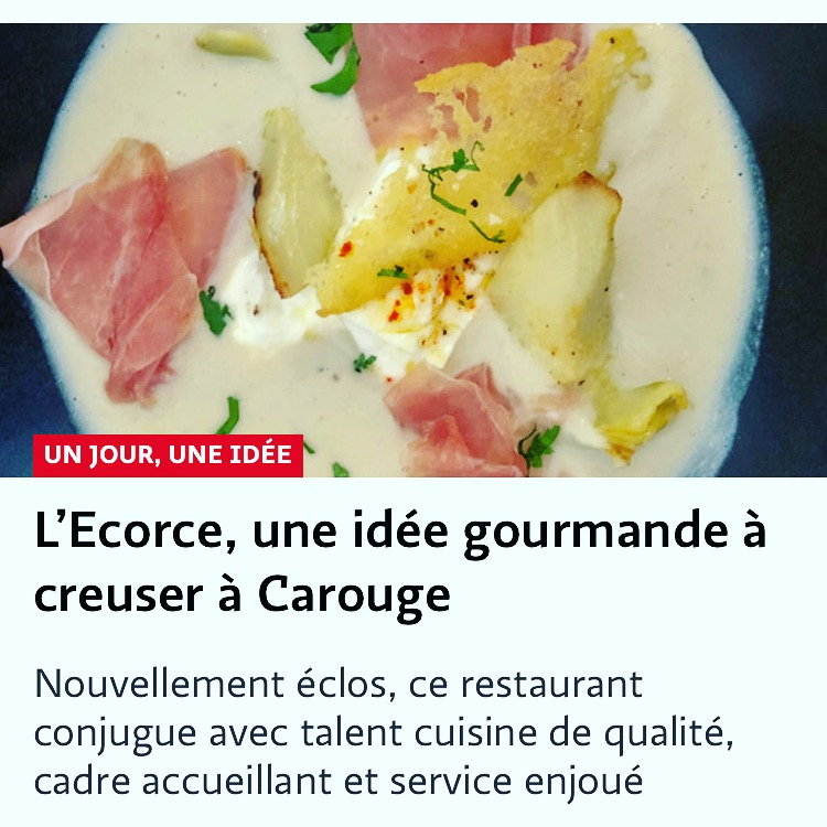 Article in Le Temps